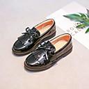 tanie Obuwie dziewczęce-Dla dziewczynek Obuwie PU Wiosna i jesień Wygoda Mokasyny i buty wsuwane na Czarny
