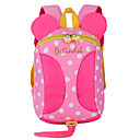 cheap Backpacks-Unisex Bags Nylon Backpack Zipper Blue / Red / Blushing Pink