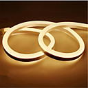 cheap LED Strip Lights-1m Flexible LED Light Strips 120 LEDs 2835 SMD Warm White / White / Yellow Waterproof / Cuttable / Decorative 12 V 1pc