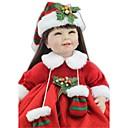 tanie Lalki-NPKCOLLECTION Lalki Reborn Indyjska dziewczynka 24 in Prezent Śłodkie Sztuczne brązowe oczy Dzieciak Dla dziewczynek Zabawki Prezent
