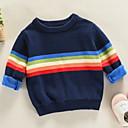 povoljno Džemperi i kardigani za dječake-Djeca Dječaci Prugasti uzorak Dugih rukava Džemper i kardigan