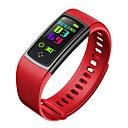 זול שעונים חכמים-Smart צמיד CB603 ל מוניטור קצב לב / עמיד במים / מודד לחץ דם / מסך מגע / מידע שעון עצר / מד צעדים / מזכיר שיחות / מעקב שינה / תזכורת בישיבה / מצאו את המכשירשלי / Alarm Clock / שליטה במצלמה