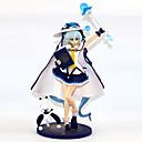 זול דמויות אקשן של אנימה-נתוני פעילות אנימה קיבל השראה מ Vocaloid שלג Miku 2018 PVC 23 cm CM צעצועי דגם בובת צעצוע