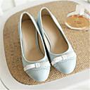 ieftine Sandale de Damă-Pentru femei Pantofi PU Primavara vara Balerini Basic Tocuri Toc Îndesat Vârf rotund Funde Bej / Albastru / Roz