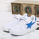 povoljno Cipele za dečke-Dječaci Cipele PU Proljeće & Jesen Udobne cipele Sneakers Vezanje za Djeca Pink And White / Bijela / plava