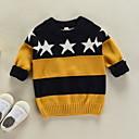 povoljno Džemperi i kardigani za dječake-Dijete koje je tek prohodalo Dječaci Jednobojni Dugih rukava Džemper i kardigan
