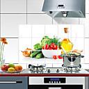 preiswerte Küchen Reinigungsbedarf-Küche Reinigungsmittel PVC Öl-feste Aufkleber Anti-Flecken Behandelt / Wasserfest 1pc