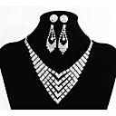 ieftine Cercei-Pentru femei Clasic Set bijuterii Creative, Fluture Ōji Lolita (Stil băiețesc), Romantic, Modă Include Lănțișoare Lănțișor Argintiu Pentru Nuntă Petrecere