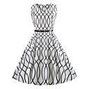 cheap Women's Sandals-Women's Vintage Swing Dress - Geometric