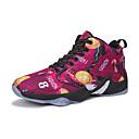 זול נעלי ספורט לנשים-בגדי ריקוד נשים נעליים בד גמיש סתיו נוחות נעלי אתלטיקה כדורסל שטוח נצנצים אפור / צהוב / אדום