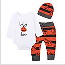 ieftine Set Îmbrăcăminte Băieți Bebeluși-Bebelus Băieți De Bază Sport Mată Manșon Lung Set Îmbrăcăminte / Copil