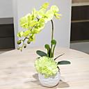 ieftine Flori Artificiale-Flori artificiale 1 ramură Clasic stil minimalist Orhidee Față de masă flori