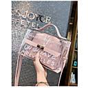 abordables Zapatillas sin Cordones y Mocasines de Hombre-Mujer Bolsos CLORURO DE POLIVINILO Bolsa de hombro Diseño / Estampado Negro / Rosa / Marrón