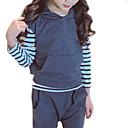 ieftine Rochii Fete-Copil Fete Mată Fără manșon / Manșon Lung Set Îmbrăcăminte