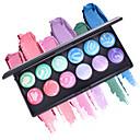 billige Motearmbånd-MISS ROSE 2 farger Eye Shadow / Sminkeredskap / Pudder Øyenskygge Lett å bære / varig Vanntett Naturlig Hverdagssminke / Halloweensminke / Festsminke Sminke kosmetisk