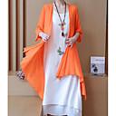 זול תחפושות מבוגרים-שמלות פרנזים, אחיד - סט שרוול נפוח פעיל בגדי ריקוד נשים