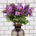 Χαμηλού Κόστους Διακοσμητικά Τραπεζιού-Ψεύτικα λουλούδια 1 Κλαδί Κλασσικό Στυλάτο / Ευρωπαϊκό Λουλακί Λουλούδι για Τραπέζι