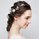 ieftine Accesorii Păr de Petrecerere-Teracotă Lantul Capului cu Perle 1 Bucată Nuntă / Purtare Zilnică Diadema