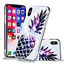hesapli iPhone Kılıfları-Pouzdro Uyumluluk Apple iPhone X / iPhone 8 Plus / iPhone 8 Temalı Arka Kapak Yiyecek / Meyve Yumuşak TPU