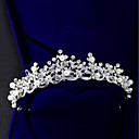 cheap Party Headpieces-Crystal / Rhinestone / Alloy Tiaras with Faux Pearl / Crystal / Rhinestone 1 Piece Wedding / Birthday Headpiece