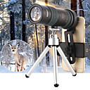 cheap Binoculars, Monoculars & Telescopes-8-24 X 30 mm Monocular Black Military / Hunting and Fishing / Camping / Hiking / Caving Portable / Fully Multi-coated / Yes
