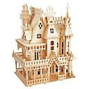 ieftine Puzzle Lemn-Puzzle Lemn / Jucării Logice & Puzzle Temă Basme / Castel Școală / nivel profesional / Stres și anxietate relief De lemn 1 pcs Adolescent / Pentru copii Toate Cadou