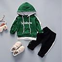 ieftine Set Îmbrăcăminte Băieți Bebeluși-Bebelus Băieți Peteci Manșon Lung Set Îmbrăcăminte