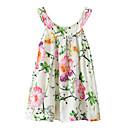 preiswerte Kleider für Mädchen-Kinder / Baby Mädchen Blumen / Jacquard Ärmellos Kleid