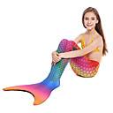 tanie Kostiumy dziecięce-Dla dziewczynek Doły Swimsuit Syrena, Zdatny do noszenia, Wygodny Spandeks Stroje kąpielowe Stroje plażowe Doły Pływacki / Sporty wodne