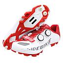 olcso Kerékpáros nadrágok, rövidnadrágok, shortok-SIDEBIKE Mountain bike cipők Szénszál Vízálló, Csúszásgátló, Párnázás Kerékpározás Piros / Fehér Férfi