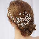 cheap Party Headpieces-Alloy Hair Accessory with Faux Pearl 1 Piece Wedding / Special Occasion Headpiece