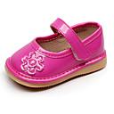preiswerte Tiergemälde-Mädchen Schuhe PU Sommer Lauflern Flache Schuhe Klettverschluss für Baby Weiß / Fuchsia / Rosa