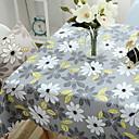 abordables Grifos de Bañera-Moderno CLORURO DE POLIVINILO Cuadrado Forros de Mesa Floral Decoraciones de mesa
