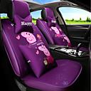 זול כיסויי למושבים לרכב-ODEER כיסויי למושבים לרכב כיסויים סגול טֶקסטִיל סרט מצוייר / נפוץ עבור אוניברסלי כל השנים כל הדגמים