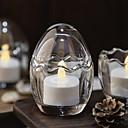 ieftine Lumânări & Suport de Lumânări-Modern / Contemporan sticlă Suporturi Lumânări Candelabra 1 buc, Lumânare / Suport pentru lumânări