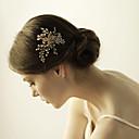 povoljno Party pokrivala za glavu-Umjetno drago kamenje Kose za kosu s Kristali / Rhinestones 1 komad Vjenčanje Glava