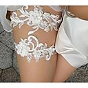 ieftine Jartiere de Nuntă-Dantelă Nuntă / Dantelă Nunta Garter Cu Perlă Artificială / Decupat Jartiere Nuntă / Ocazie specială
