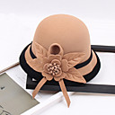 cheap Party Headpieces-Other Material Hats with Flower 1pc Wedding / Party / Evening Headpiece