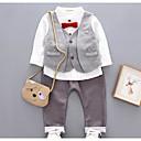 ieftine Pantaloni Băieți-Bebelus Băieți Dungi Manșon Lung Set Îmbrăcăminte