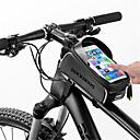 abordables Bolsas para Cuadro de Bici-ROCKBROS Bolso del teléfono celular 6 pulgada Impermeable, Portátil Ciclismo para Otros Tamaño Teléfonos similares Negro