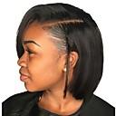 Χαμηλού Κόστους Περούκες από Ανθρώπινη Τρίχα-Φυσικά μαλλιά Δαντέλα Μπροστά Περούκα Κούρεμα καρέ στυλ Βραζιλιάνικη Μιανμάρ Ίσιο Περούκα 130% Πυκνότητα μαλλιών με τα μαλλιά μωρών Γυναικεία Εύκολη σάλτσα Η καλύτερη ποιότητα Hot Πώληση Φυσικό