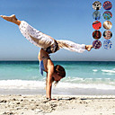 cheap Yoga Mats, Blocks & Mat Bags-Women's Harem Yoga Pants Sports Print High Rise Bloomers Belly Dance Fitness Activewear Lightweight Breathable Moisture Wicking Soft Inelastic Loose