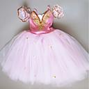 Χαμηλού Κόστους Zentai-Μπαλέτο Φορέματα Κοριτσίστικα Επίδοση Spandex Πλισέ / Κρύσταλλοι / Στρας Αμάνικο Τούτους