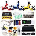 cheap Starter Tattoo Kits-DRAGONHAWK Tattoo Machine Professional Tattoo Kit - 3 pcs Tattoo Machines, Professional / Safety / Easy to Setup Alloy LCD power supply Case Included 3 rotary machine liner & shader