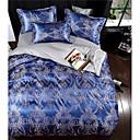 billige Vegglamper-Sengesett Luksus Polyester Mønstret 4 delerBedding Sets / 400 / 4stk (1 Dynebetræk, 1 Lagen, 2 Pudebetræk)