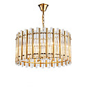 cheap Chandeliers-QIHengZhaoMing 8-Light Chandelier Ambient Light Electroplated Crystal 110-120V / 220-240V Warm White