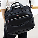 cheap Briefcases-Men's Bags PU(Polyurethane) Briefcase Zipper Black