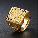 cheap Men's Rings-Men's Stylish Ring - 18K Gold Eagle Fashion Adjustable Gold For Daily Evening Party