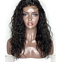 cheap Synthetic Capless Wigs-Synthetic Wig / Synthetic Lace Front Wig Curly Style Layered Haircut Lace Front Wig Black Natural Black Dark Brown Synthetic Hair 18 inch Women's with Baby Hair / Soft / Heat Resistant Black Wig Short