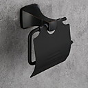 זול מחזיקי נייר טואלט-מחזיק נייר טואלט עיצוב חדש / מגניב מודרני אלומיניום 1pc מחזיקים לנייר טואלט מותקן על הקיר